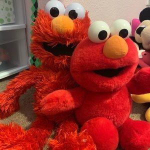 Elmo - set of 2